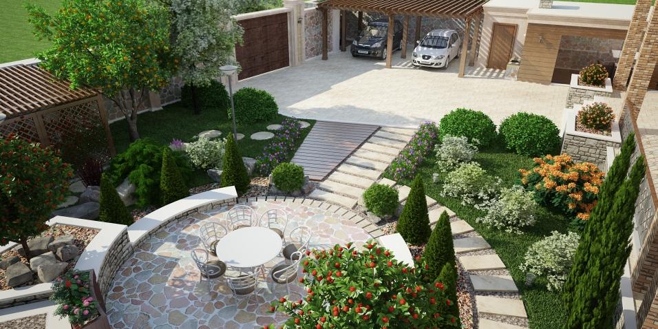 Landhaft design
